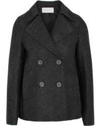 Harris Wharf London - Wool-felt Jacket - Lyst
