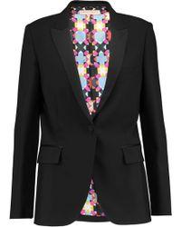 Emilio Pucci - Wool And Silk-blend Blazer - Lyst