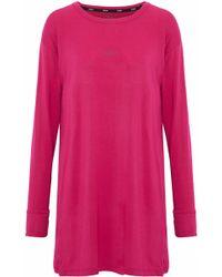 DKNY - Stretch Modal-jersey Nightdress - Lyst