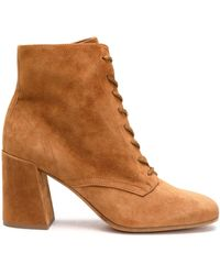 Vince - Suede Ankle Boots - Lyst