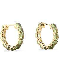 Ippolita - 18-karat Gold Peridot Earrings Light Green - Lyst