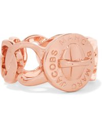 Marc By Marc Jacobs Katie Rose Gold-tone Ring Rose Gold - Metallic