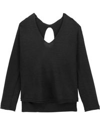 Soyer | Paloma Cutout Ribbed Wool-blend Sweater | Lyst