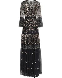 Needle & Thread - Embellished Embroidered Tulle Gown - Lyst
