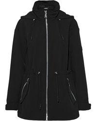DKNY Shell Hooded Parka - Black