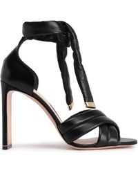 ce132cd326b8 Lyst - Gianvito Rossi Woman Suede Sandals Black in Black