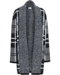 Soft Joie - Checked Jacquard-knit Cardigan - Lyst