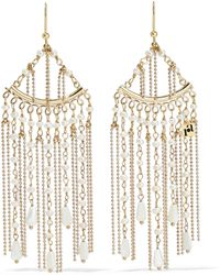 Rosantica Woman Lliade Gold-tone Freshwater Pearl Earrings Gold - Metallic