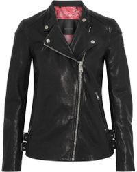 Belstaff - Brademore Leather Biker Jacket - Lyst
