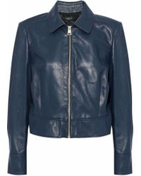 Lanvin - Leather Jacket - Lyst