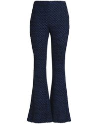 Nicholas - Open-knit Flared Trousers - Lyst