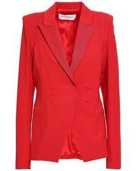Amanda Wakeley Woven Blazer - Red