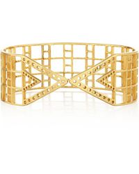 Arme De L'Amour - - Gold-plated Arm Cuff - Lyst