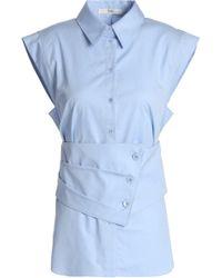 Tibi - Cotton-poplin Shirt - Lyst