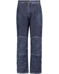 JW Anderson - Mid-rise Panelled Straight-leg Jeans - Lyst