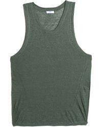 Mikoh Swimwear - Slub Linen-jersey Coverup - Lyst