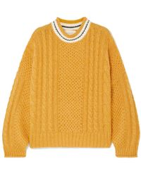 The Great The Cable Strickpullover - Mehrfarbig