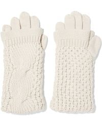 Duffy - Cable-knit Merino Wool Gloves - Lyst