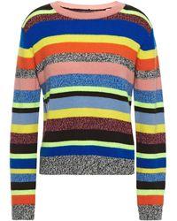 Chinti & Parker Multicoloured Anni Stripe Wool-cashmere Sweater