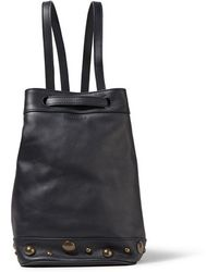 Tomas Maier - - Embellished Leather Backpack - Midnight Blue - Lyst