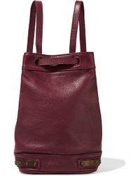 Tomas Maier - Stud-embellished Leather Bucket Bag - Lyst