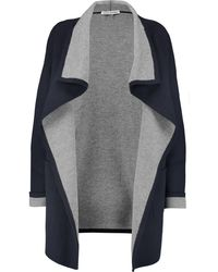 Autumn Cashmere - Reversible Draped Knitted Coat - Lyst