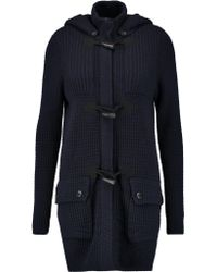 Autumn Cashmere - Knitted Hooded Coat - Lyst