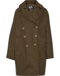 NLST - Oversized Wool Coat - Lyst