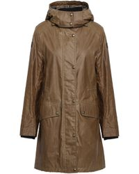 Belstaff - Coated-cotton Hooded Raincoat - Lyst