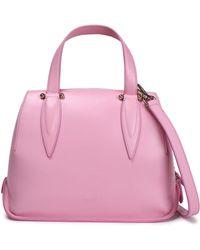Delpozo - Benedetta Leather Shoulder Bag - Lyst
