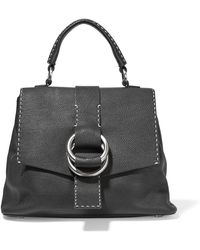 Michael Kors - Julie Textured-leather Tote - Lyst
