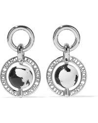 Alexander Wang - Silver-plated Resin Earrings - Lyst