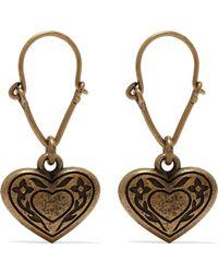 Etro - Gold-tone Earrings - Lyst