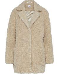 Iris & Ink - Tabitha Faux Fur Coat - Lyst