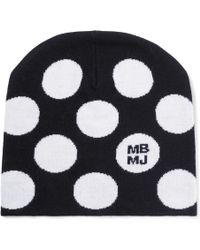 Marc By Marc Jacobs - Charlie Polka-dot Wool Beanie - Lyst