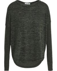 Rag & Bone - Mélange Ribbed And Stretch-knit Top - Lyst