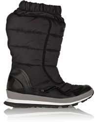 adidas By Stella McCartney - Kattegat Quilted Shell Boots - Lyst