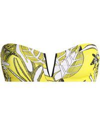 I.D Sarrieri - Printed Bandeau Bikini Top - Lyst