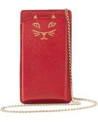 Charlotte Olympia - 'feline' Iphone 6 Case - Lyst