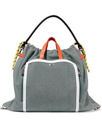 Y-3 - Toile Woven Shoulder Bag - Lyst