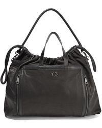 Y-3 - Leather Shoulder Bag - Lyst