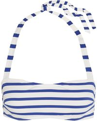 Petit Bateau - Striped Bandeau Bikini - Lyst