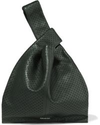 McQ - Perforated Leather Tote - Lyst