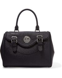 Hill & Friends - Happy Ostrich Effect-leather Tote - Lyst