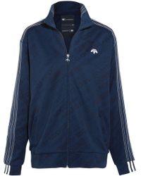 adidas Originals - Embroidered Jacquard Jacket - Lyst