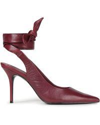 Reformation Brooke Leather Court Shoes - Multicolour