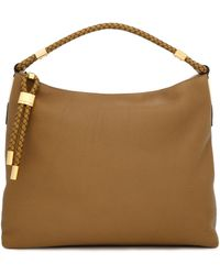 Michael Kors - Braided Textured-leather Shoulder Bag - Lyst