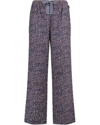 CALVIN KLEIN 205W39NYC - Printed Brushed-cotton Pyjama Trousers - Lyst