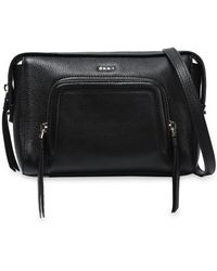 DKNY - Leather Shoulder Bag - Lyst