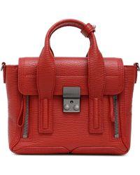 3.1 Phillip Lim - Pashli Textured-leather Tote - Lyst